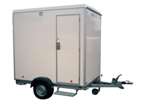 Mobiele badkamer - VSN Verhuur